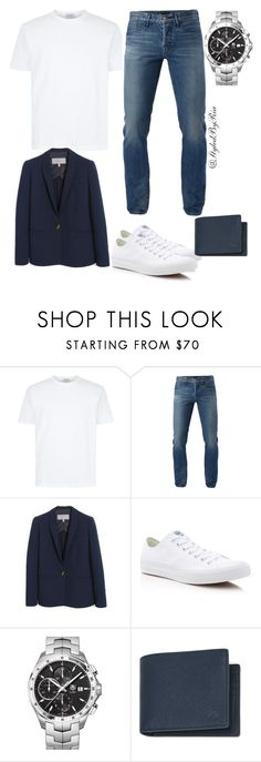"""""""Untitled #147"""" by stylebyria ❤ liked on Polyvore featuring 3x1, Mulberry, Converse, TAG Heuer, men's fashion and menswear"""