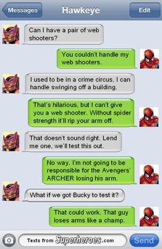 Texts From Superheroes - The Best Of The Avengers (3).