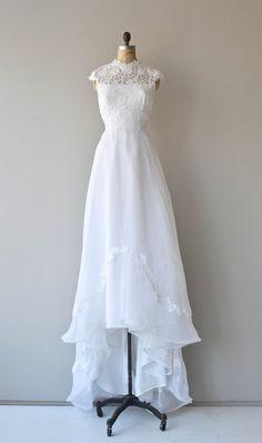 A Fine Romance wedding gown 1970s wedding dress by DearGolden