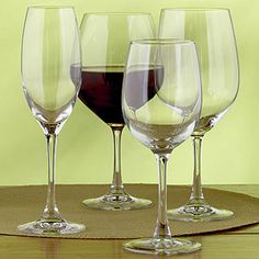 Connoisseur Stemware Collection Set of 6   Wine Glasses and Decanters   World Market
