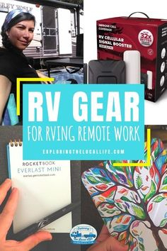 Find out what you need to successfully work from your RV. There are plenty of ways to make money while you RV, but make sure you have all the gear to make your RV digital nomad life work for you. Rv Organization, Rv Life, Digital Nomad, Amazing Adventures, Life Inspiration, Way To Make Money, The Locals, Gears, Make It Yourself