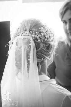 Bridal hair with veil, upstyle, Deryck Tormey, DT Photography Bridal Hair, Veil, Crown, Photography, Wedding, Fashion, Mariage, Moda, Corona