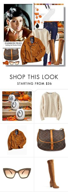"""""""Weekend Brunch Style"""" by teah507 ❤ liked on Polyvore featuring Balenciaga, Improvements, Uniqlo, Louis Vuitton, LARA, Prism, Dolce Vita, Boots, motojacket and fallfashion"""