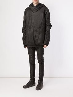 Julius paneled oversized hoodie