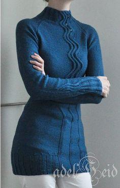 Ravelry: Project Gallery for Maijapaita - Maija Pullover pattern by Mari Muinonen / tikru