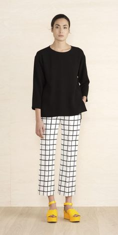 New in - Clothing  - Marimekko.com - Those pants and those shoes - LOVE!
