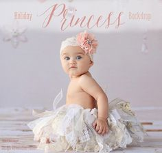 Our Holiday Princess Backdrop is a delicate option for Holiday Photography. With beautiful ornament additions at just the right height, this backdrop is so sweet.