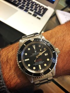 Double Red Sea dweller by Rolex
