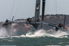 Bucket list : To see the Americas Cup and to ride on one of these catamarans!