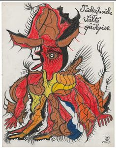 GASTON DUF 1956 Art Brut, Gaston, Outsider Art, Oeuvre D'art, Les Oeuvres, The Outsiders, Creations, Author, Collection
