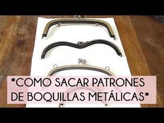 Cómo sacar patrones de boquillas metálicas | Manualidades Sewing Hacks, Sewing Tutorials, Couture Cuir, Leather Bag Tutorial, Patchwork Tutorial, Watch Diy, Diy Wallet, Frame Purse, Fabric Bags