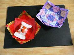 菓子皿  Candy dish | 折り紙サロン - 楽天ブログ