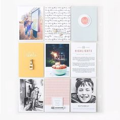 Project Life Scrapbooking - Pocket Scrapbook ideas, inspiration, and layouts. Pocket Page Scrapbooking, Scrapbooking Layouts, Scrapbook Pages, Scrapbook Photos, Digital Scrapbooking, Project Life Album, Project Life Layouts, Crate Paper, Studio Calico
