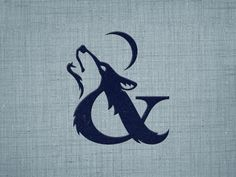 Dribbble - Wolf & Whisper V? by Mackey Saturday