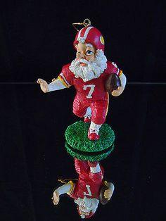 Santa-Football-USA-Team-Player-Sports-Christmas-Tree-Ornament-Xmas-Figurine