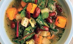 One-Pot Meal: Warming Soup With Butternut Squash & Chard