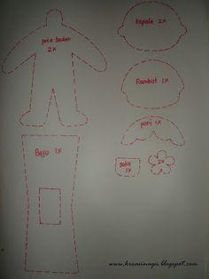 """NUPI-NUPI: """"How To"""" doll sasa"""