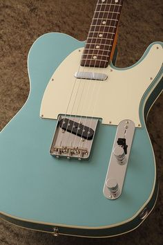 These fender telecaster guitar are amazing. Fender Stratocaster, Gretsch, Telecaster Custom, Fender Acoustic Guitar, Fender Guitars, Vintage Electric Guitars, Vintage Guitars, Gibson Electric Guitar, Fender Vintage