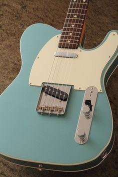 Fender Telecaster 62 Ocean Turquoise