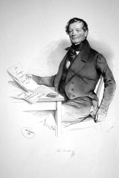 Anton Diabelli (1781-1858), lithograph (1841), by Josef Kriehuber (1800-1876).