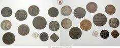 RITTER Augsburg, Reichsstadt, 12 Münzen 1637-1803 #coins