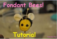 How To Make Fondant Bees