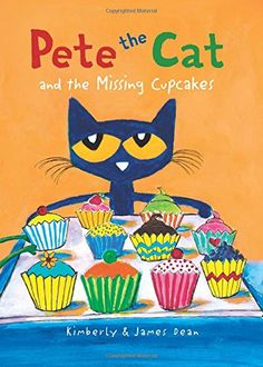 Pete the Cat and the Missing Cupcakes by James Dean https://www.amazon.com/dp/0062304348/ref=cm_sw_r_pi_dp_x_1Qz7yb6W1HC8M