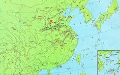 中國夏朝時期全圖