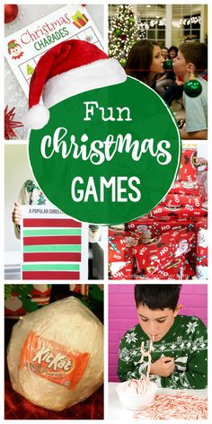 Fun Christmas Games to Play at Your Holiday Parties-From printable games for kids to great group games for adults, these Christmas party games are perfect for your party! #christmas #christmasparty #partygames