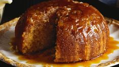 Recipe: Ginger steamed pudding with creme anglaise Pudding Desserts, Pudding Recipes, No Bake Desserts, Just Desserts, Delicious Desserts, Bread Recipes, Yummy Food, Ginger Pudding Recipe, Creme Anglaise Recipe