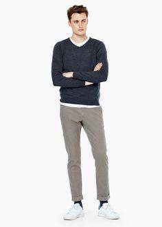 Pullover aus merinowolle | MANGO MAN