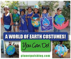 A World of Earth Costumes Even You Can Make!