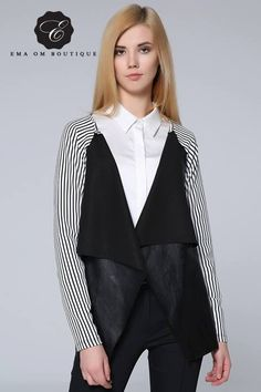 White and Black leather cardigan available size: M reasonable prices contact us @emaomboutique  #white #Black #leather #Cardigan #readytowear #lookoftheday #ootd #outfitoftheday #emaomboutique #fashionitems #fashionskirt #fashionpieces #newcollection #lebanesedesigner #lebanesefashion #lebaneseblog #lebanesefashionblogger #fashionistas #lebaneseladies #fashionaddict #streetstylelook #streetstyle #beirutstyle #newlook #uniquestyle #fashionblogger #beirut #lebanon