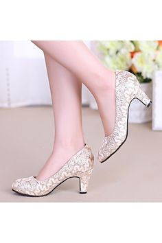 Bride Wedding Shoes Pregnant Women Female Dwarf Lace Luxury Fashion Party Wedding Pumps | ราคา: ฿1,413.90 | Brand: Unbranded/Generic | See info: http://www.topsellershoes.com/product/52964/bride-wedding-shoes-pregnant-women-female-dwarf-lace-luxury-fashion-party-wedding-pumps
