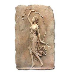 Relieve Ménade con Cinta   Arte neoclásico   Artesanía Horse Sculpture, Sculpture Clay, Sculptures, Clay Wall Art, Mural Wall Art, Anatomy Sculpture, Tree Wall Murals, Plaster Art, Roman Art