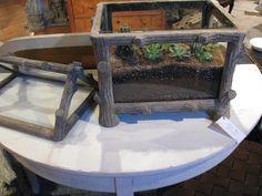 Rustic Table top terrarium.