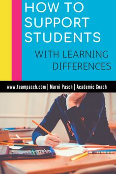 How to Support Students with Invisible Disabilities — Team Pasch Academic Coaching School Planner, School Schedule, School Tips, Note Taking Strategies, Teaching Strategies, Middle School, High School, Law School, College Search