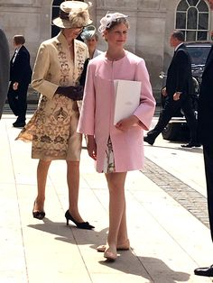 Princess Anne and Lady Louise