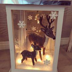 Asetelma lyhdyssä Lanterns, Moose Art, Frame, Animals, Home Decor, Picture Frame, Animales, Decoration Home, Animaux