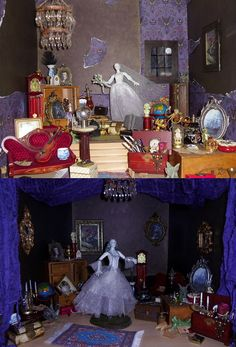 New Life in the After Life (MaxxieJames) Tags: house dark toy bride doll shadows action ooak ghost scene disney haunted spooky figure attic ghosts mansion custom phantom manor ghostly constance diorama