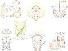 Thanksgiving Dot Digital Clip Art Hand by SnugglebugArtDesign