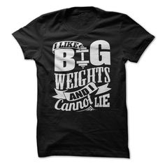 I Like Big Weights And I Cannot Lie. Fitness motivational quotes for athletes. The best funny motivational quotes for gym, sports or workout.