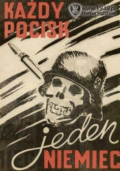 Polski plakat propagandowy.