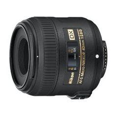 Nikon AF-S DX Micro-Nikkor 40mm 1:2,8G Objektiv
