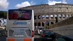 Autocares Carrera en el #Coliseo #Romano