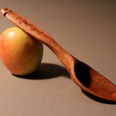 David Fisher - Apple wood stirring/serving spoon