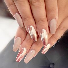 Pink Chrome Nail Designs picture6