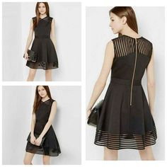 Women polyester dress  Price  1650  Size small to XXL