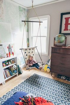 Awesome 49 Lovely And Relaxable Indoor Swing Chair Design Ideas.  #IndoorSwingChairDesign