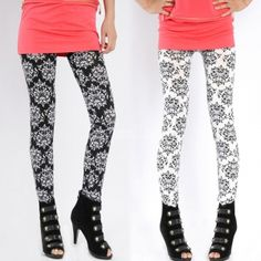 $ 2.10 Women Elastic Printing Skinny Leggings Tights